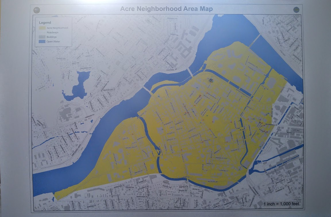 Map of the Acre