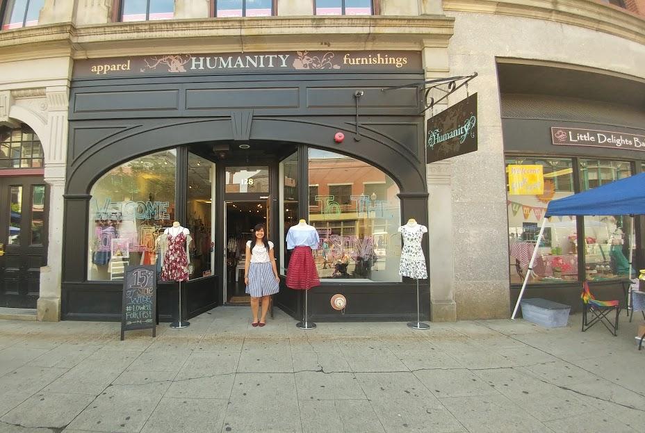 Ani & her beautiful store