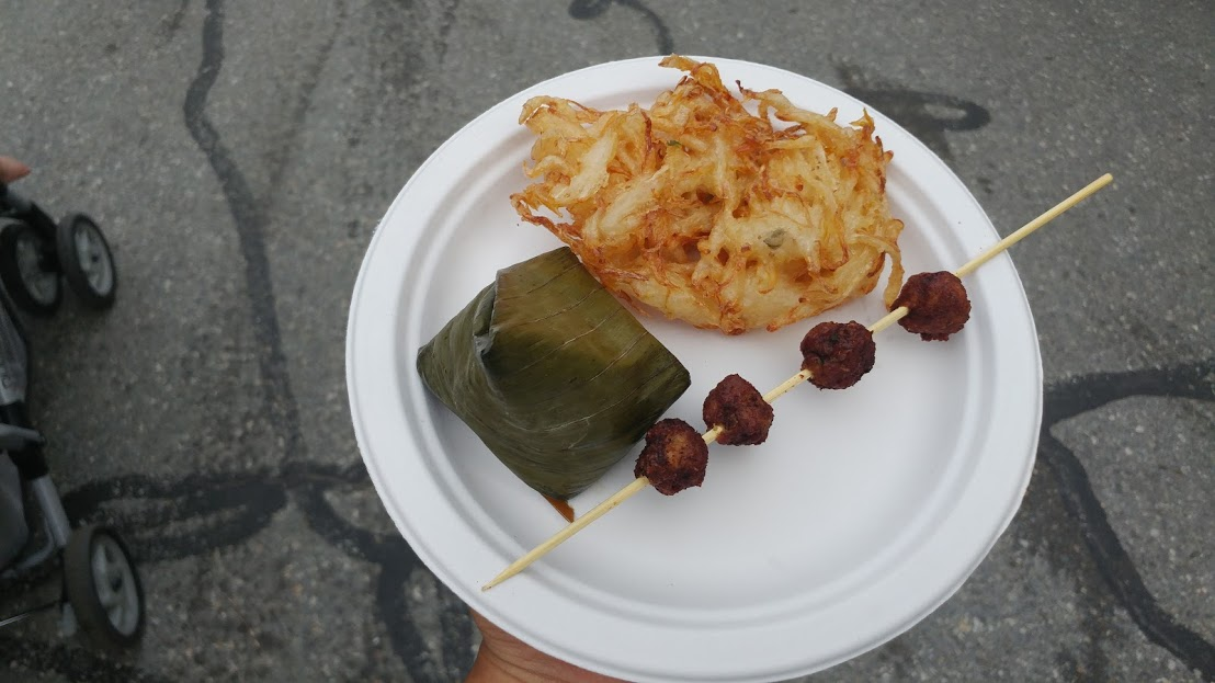 My Burmese plate