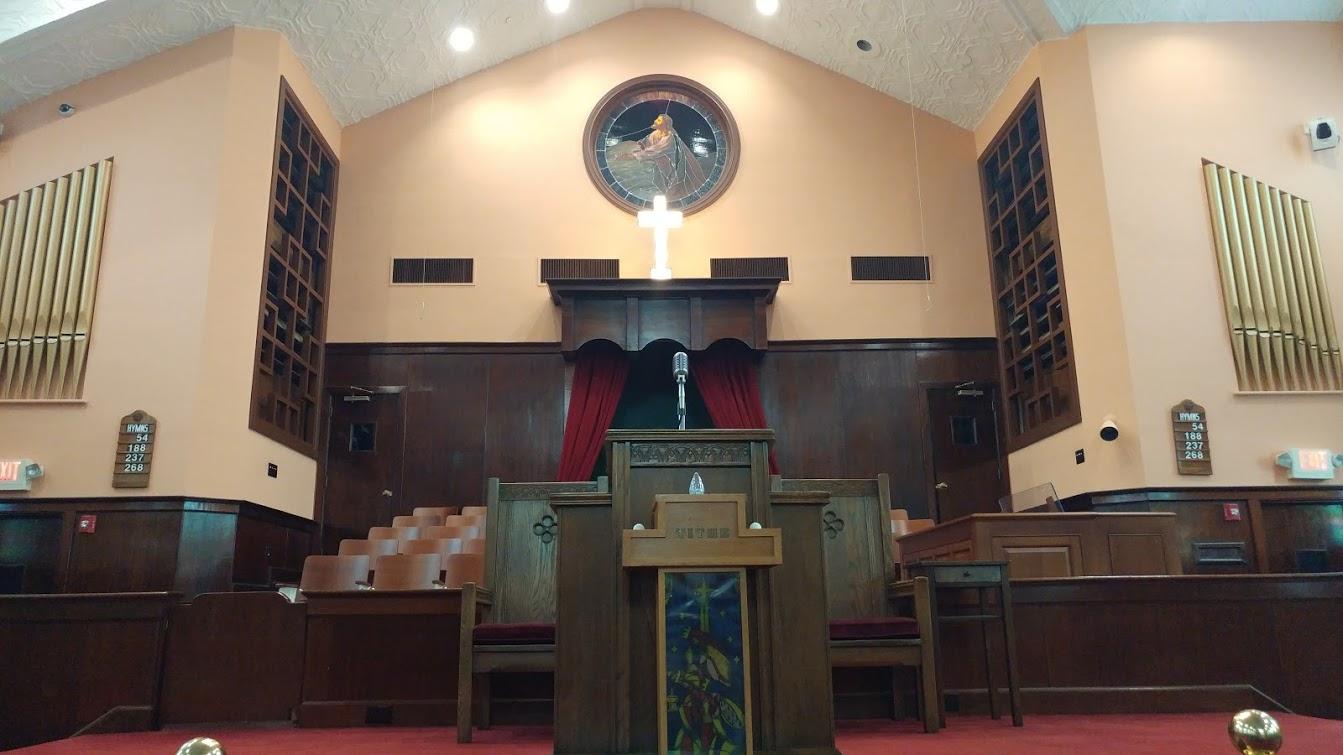 Interior of Ebenezer Baptist Church