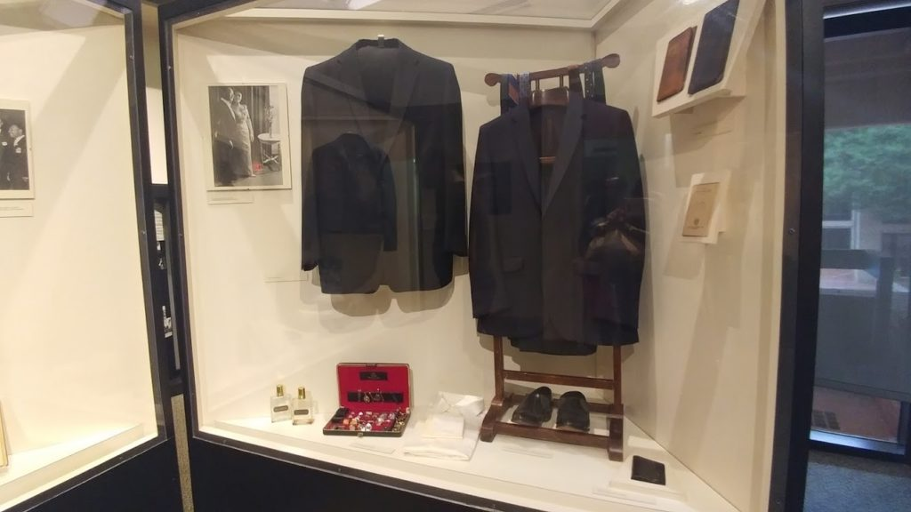 Suit MLK was wearing when stabbed